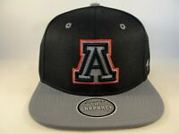 Arizona Wildcats NCAA Zephyr Snapback Hat Cap Navy Gray