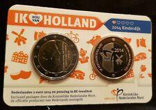 Holland coin fair coincard 2014 Kinderdijk