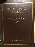Waltham Police Association Business Directory 1988