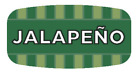 """Jalapeno Labels 1000 per Roll Food Store Flavor Stickers .625"""" X 1.25"""""""