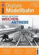 MIBA Eisenbahn Journal Digitale Modellbahn 19 Weichen-Antriebe 2-2015