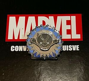 Marvel Fan Expo Exclusive Pin Set BLACK PANTHER 3D Raised Pin Limited Edition