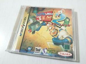 Sega Saturn Earthworm Jim 2 Japan 0218A4