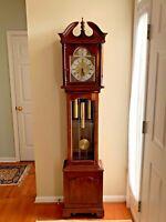 Ethan Allen Grandfather Clock - Ridgeway - Hermle 451