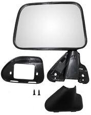 87 88 89 Toyota Pickup 4runner Left & Right Black Manual Mirror Pair L+R