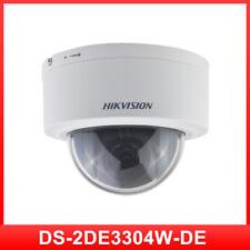 Original Hikvision PTZ IP Camera DS-2DE3304W-DE 3MP Network Mini Dome Camera