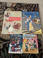 4 Vintage Children's Books