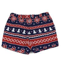 Opposuit Summer Nordic Noel Mens Ugly Christmas Shorts Size 30 Xmas Party