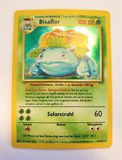 Pokémon Karte Bisaflor Holo Rare Base / Basis Set 15/102 TCG Sammelkarte