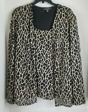 R & M RICHARDS WOMENS SPECIAL OCCASSION SEQUINED TOP SIZE 20 W