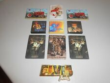 Lot of 10 Various Refrigerator Magnets Elvis Presley Winchester & more