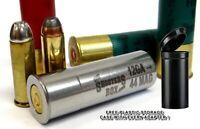 12GA to 44 Magnum Shotgun Adapter - Stainless Chamber Reducer - Free Case & Ship