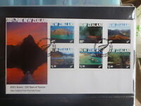NEW ZEALAND 2001 100th ANNIV OF TOURISM SET 6 STAMPS FDC FIRST DAY COVER