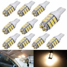 10Pcs Warm White T10 921 194 RV Car 42 SMD DC 12V Backup Reverse LED Light Bulb