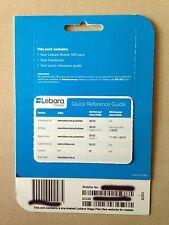 Lebara $39.90 Unlimited Talk Text MMS 7 GB Data Standard Micro SIM Card 500 Int