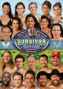 SURVIVOR 40 (2020) Winners at War - 20 Previous Winners! US TV Season Rg1 DVD sp