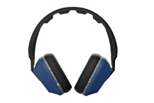 Skullcandy Crusher Headphones with Built-in Amplifier and Mic, Black Blue