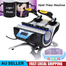 Digital Control Sublimation Transfer Mug Cup Heat Press Machine 2 in 1 220V AU