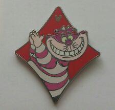 DLR - 2013 Hidden Mickey Card Suits - Wonderland Cheshire Cat Diamond Pin