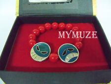 One Piece Portgas D Ace Inspired Cosplay Red Bead Bracelet