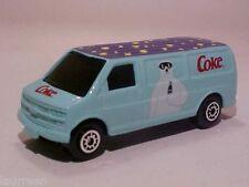 Chevrolet Express Van Coca-Cola Edocar Maisto 2001  1/64 Diecast Mint Loose