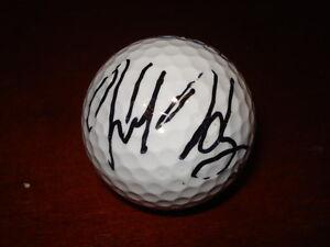 Celebrity Golf Ball Auto HANK HANEY - Tiger Woods Swing Coach - rare