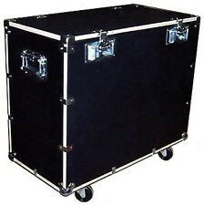 """UTILITY & SUPPLY TRUNK ROAD CASE 1/2"""" PLY CASE KIT w/Bare Wood Edges - 32"""""""