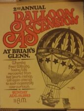 Reproduction Print of 1883 2nd Annual Balloon Ascension