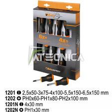 Serie di 10 giraviti BETA 1203/D10 N modelli croce 1202 taglio 1201 e 2 mini N