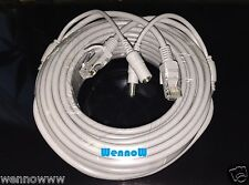 Gray 50ft Cat5E Network Ethernet LAN Video/Power Cable for Router/Switches/Hubs
