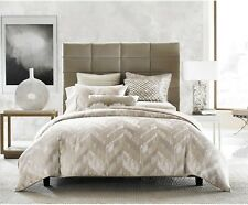 Hotel Collection Distressed Chevron Gold Full / Queen Comforter