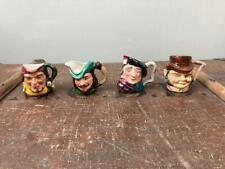 More details for 4 x vintage cooper clayton character toby jug giles will scarlet robin hood jock
