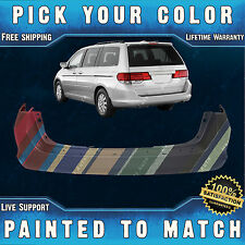 NEW Painted to Match - Rear Bumper Cover For 2005-2010 Honda Odyssey 05-10