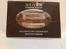 Shezi Brow Stamp for Korean Natural Best Eyebrow Shape Light Brown NEW