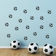 Football Soccer Balls Ball Boys Wall Sticker Home Decor Kids Room Decal DIY UK