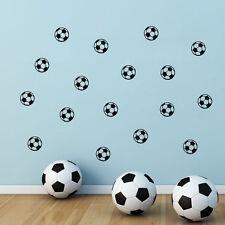 10 x Balón Fútbol Soccer pared adhesivo Decoración Hogar Niños Niños Habitación Calcomanía Hazlo tú mismo UK