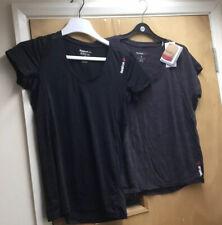 X2 Reebok Slim Speedwick T Shirts Size S (8-10)