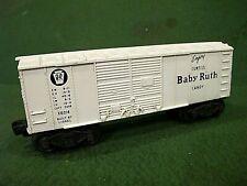 VINTAGE postwar LIONEL TRAIN #X6014 BABY RUTH BOX CAR