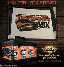 TORANA A9X KING OF THE MOUNTAIN PVC STICKER DECORATE YOUR TOOLBOX WATER PROOF