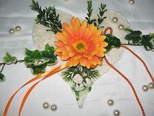 Tischdekoration ,Aufleger, Gerbera, Tischdeko Hochzeit Kommunion Taufe Verlobung