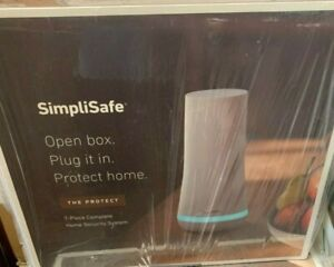 SimpliSafe 7 Piece Protect Home Security System SS3-01 White FREE SHIPPING -NEW