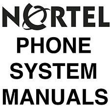 BIGGEST NORSTAR NORTEL MANUALS Phone SYSTEM MANUAL MANUALS DVD SET