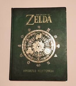 The Legend of Zelda Hyrule Historia Hardcover Book Nintendo Dark Horse