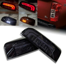 SMOKE DARK BLACK TAIL LIGHT LAMP FOR NISSAN FRONTIER NAVARA NP300 D23 2014-2019