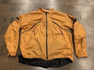 Vintage REI Orange Ride Dry Full Zip Diaplex Unisex Jacket Size L LARGE