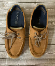 Sperry Boy's Lanyard Boat Shoes Size 4m