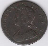 1732 George II Halfpenny | British Coins | Pennies2Pounds