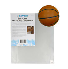Adhesive Sheets Traction Pad Sticky Mat Basketball Shoe Sheet 30-Pack