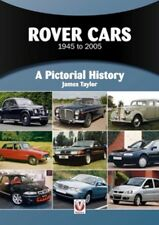 Rover Cars 1945 to 2005 A Pictorial History book paper