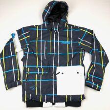 Nomis Simon Signature Men's Snowboard Ski Jacket Insulated Plaid • Medium